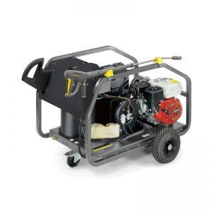 04- Hidrolavadora de alta presión de agua fría y caliente a combustión (Gasolina / Diesel)